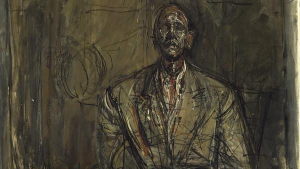 Jean Genet by Alberto Giacometti, c1954-5; Tate London 2015