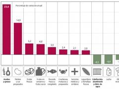 Precio de alimentos básicos