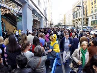 Inauguración de la tienda de Primark en la Gran Vía de Madrid