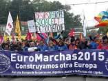 Euromarcha en Bruselas