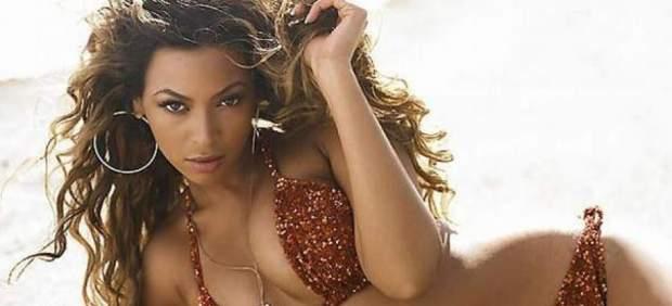 La cantante Beyoncé, en concierto en el Estadio Olímpico de Barcelona el 3 de agosto