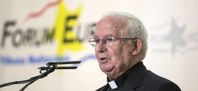 El cardenal arzobispo de Valencia, Antonio Cañizares
