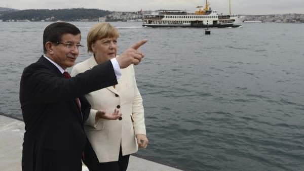 Merkel en Turquía