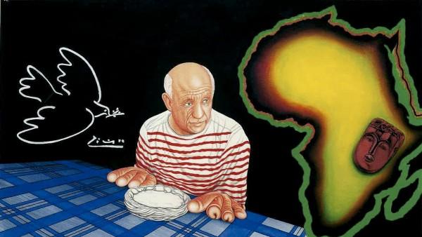 Exhiben la manifiesta huella de Picasso en Basquiat, Kusturica, Warhol, Hockney, Lichtenstein...