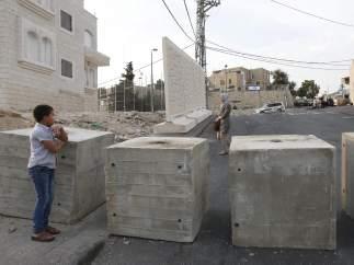 Muro en Jerusalén Este