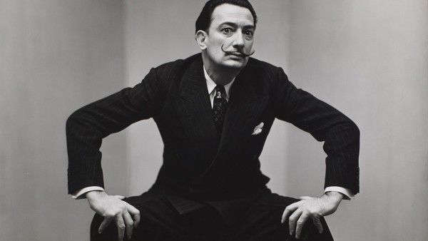 Irving Penn, Salvador Dali, New York, 1947