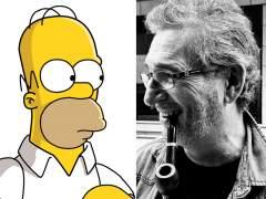 Homer Simpson y Carlos Ysbert