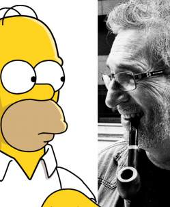 Homer y Carlos Ysbert