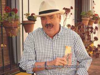 'El Risitas' protagoniza un anuncio de pizzas