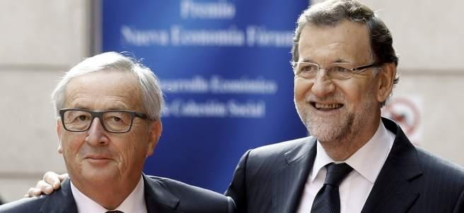 Juncker y Rajoy