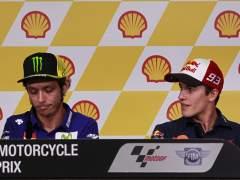 Márquez resuelve amistosamente su contrato con la empresa de Rossi