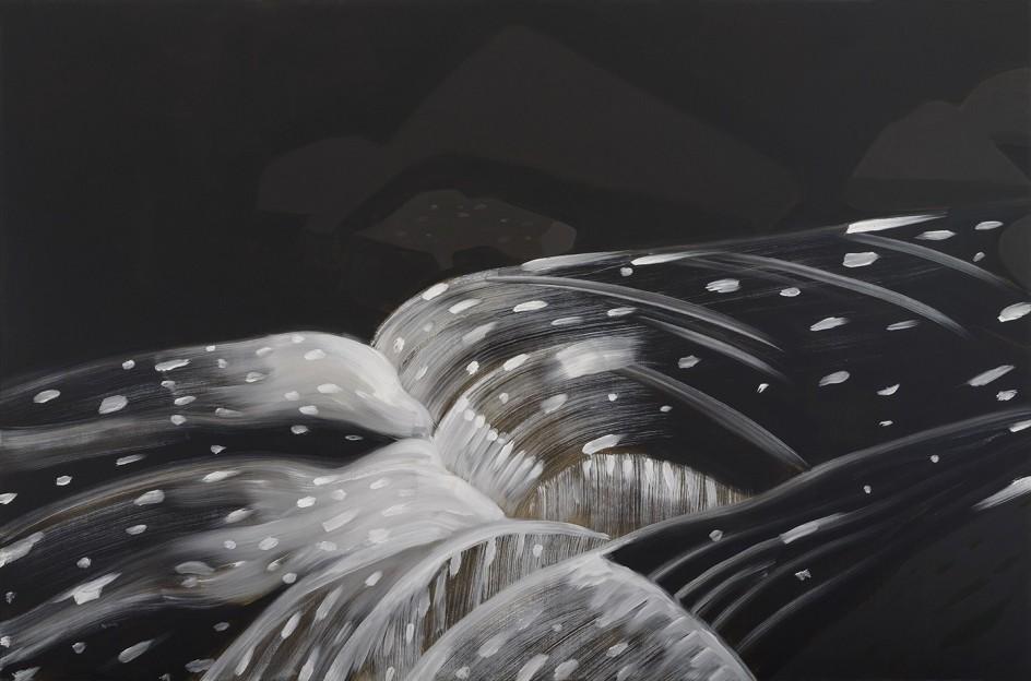Black Brook 11, 1990 - Alex Katz -Cortesía de Peter Blum, Nueva York © VEGAP, Bilbao, 2015