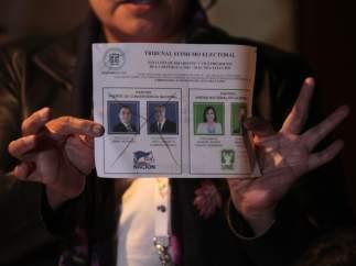 Elecciones Guatemala 2015.