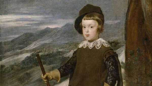 El Príncipe Baltasar carlos, cazador, Velázquez