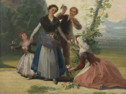 La primavera, Goya