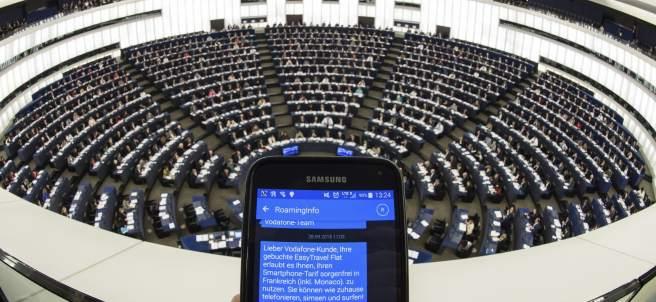 Pleno del Parlamento Europeo
