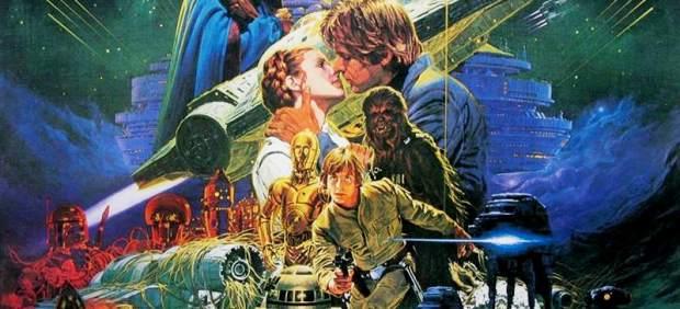 Cartel de La Guerra de las Galaxias