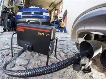 Test de emisiones de gases