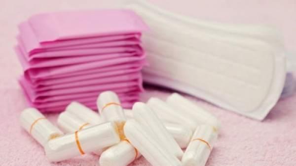 Tampones y productos de higiene femenina