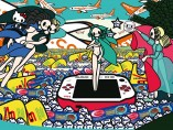 Tomoko Nagao - Botticelli - The Birth of Venus with Baci, Esselunga, Barilla, PSP and EasyJet, 2012