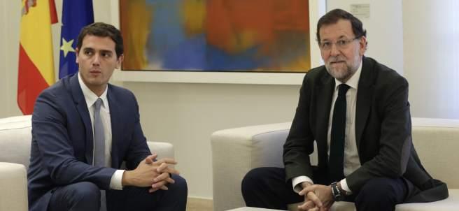 Rajoy y Rivera, en Moncloa