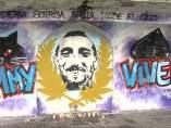 Graffitis en recuerdo de Jimmy