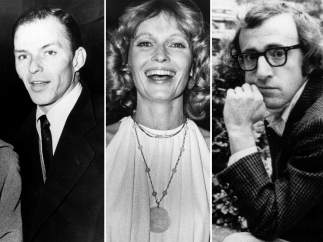 Sinatra, Farrow y Allen