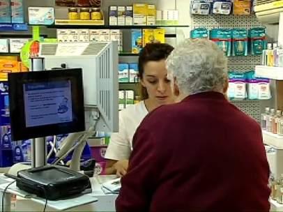 Farmacia en Cataluña.