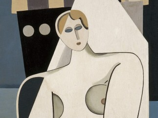 Marcelle Cahn, Woman and Sail, c. 1926/27
