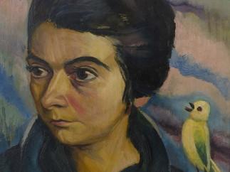 Emmy Klinker, Portrait of a Young Woman, 1920/21
