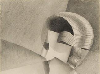 Marthe Donas, Cubist Head, 1917