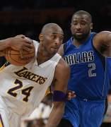 Kobe Bryant ante Dallas