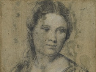 Tiziano Vecellio, known as Titian (c.1485-90‒1576) - Portrait of a young woman