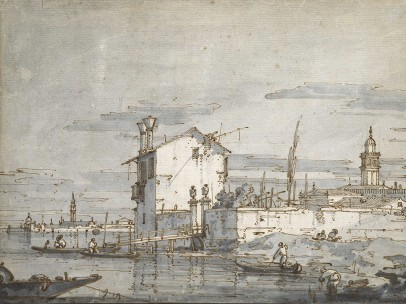 Giovanni Antonio Canal, known as Canaletto (1697‒1768) - An Island in the Lagoon