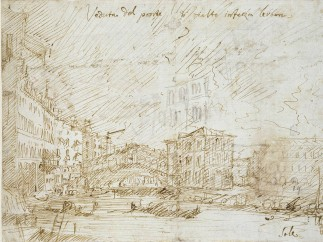 Giovanni Antonio Canal, known as Canaletto (1697‒1768) - View of the Grand Canal towards the Rialto