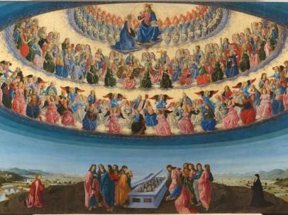 Francesco Botticini - The Assumption of the Virgin, Probably about 1475-6