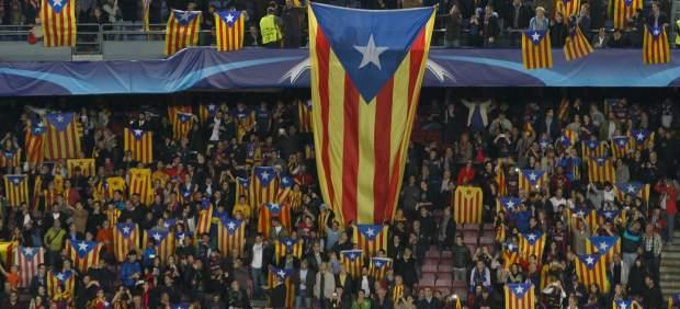 Inadmiten el recurso del Barça por la prohibición de esteladas al no estar legitimado el club