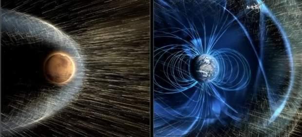 La NASA afirma que la atmósfera de Marte desapareció a causa del Sol