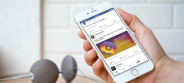 Facebook estrena 'Music Stories', para escuchar y compartir música sin salir de la aplicación