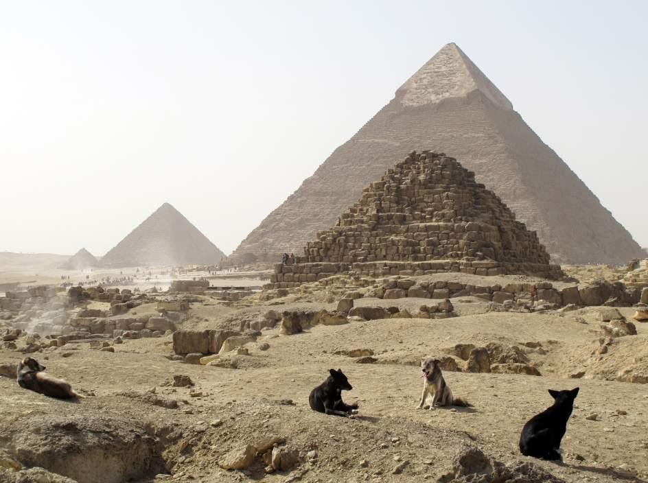 """""""Anomalías térmicas"""" en la pirámide de Keops en Egipto"""