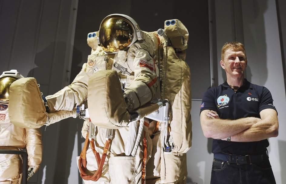 Un británico en el espacio