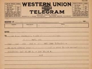 Telegrama de SOS