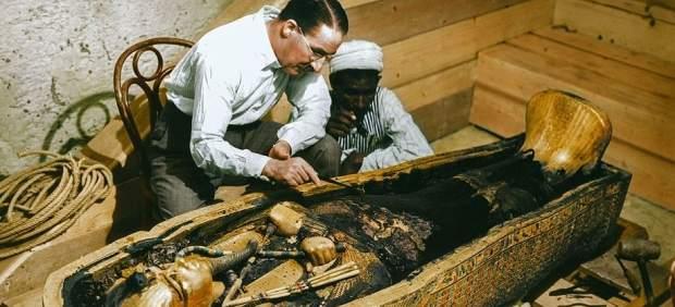 tutankamón damati tumba cámaras detrás faraón cámara norte