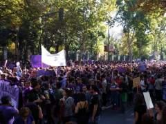 Marchas en toda España para pedir más fondos contra la violencia machista
