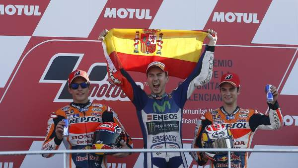Lorenzo, campeón