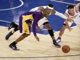 Lakers Knicks 2015 Bryant Calderón.