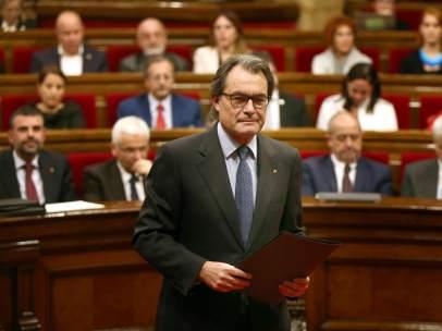 Debate de investidura de Artur Mas