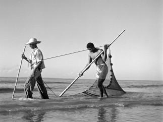 Marcel Gautherot - Pescadores, Isla Mexiana, Pará, c. 1943