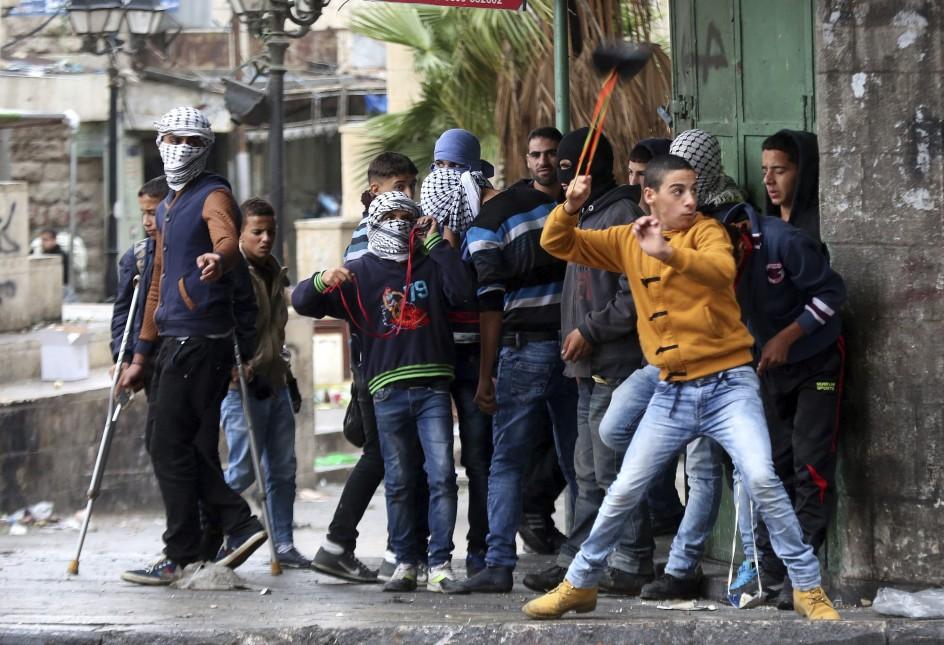 Duros enfrentamientos en Hebrón