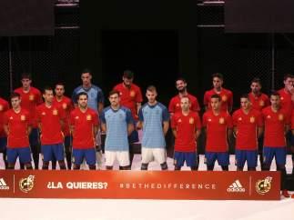 Foto de grupo de la selección